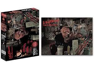 Puzzle 1000 piezas Pesadilla en Elm Street - Freddy Krueger