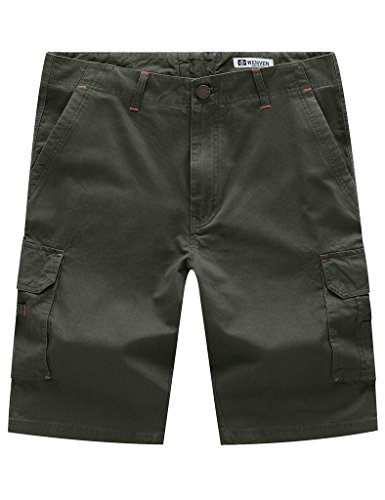 WenVen Multi Pocket Cargo Shorts