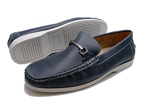 Sizes Driving Shoes On 11 Blue Casual Loafers Moccasins Deck 6 Comfy Boat Slip Mens 6POXn