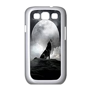 JenneySt Phone CaseAnimal Wolf and Moon For Samsung Galaxy S3 -CASE-14