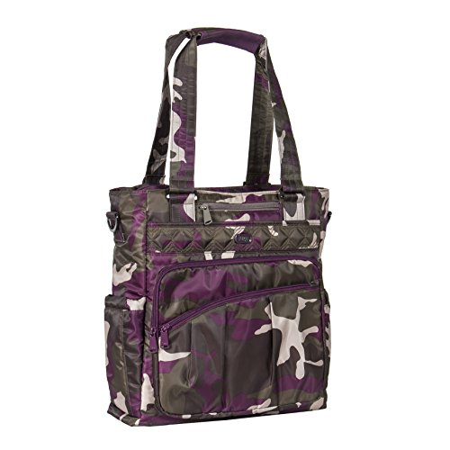 lug-womens-ace-victory-travel-tote-camo-berry-one-size