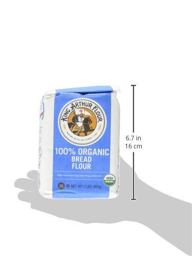 King Arthur Flour 100% Organic Bread Flour , 2 Pound (Pack of 12) by King Arthur Flour (Image #8)