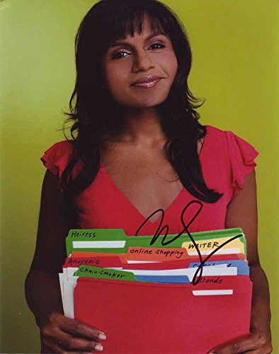 Mindy Kaling In-person Autographed Photo from Sign Here Autographs