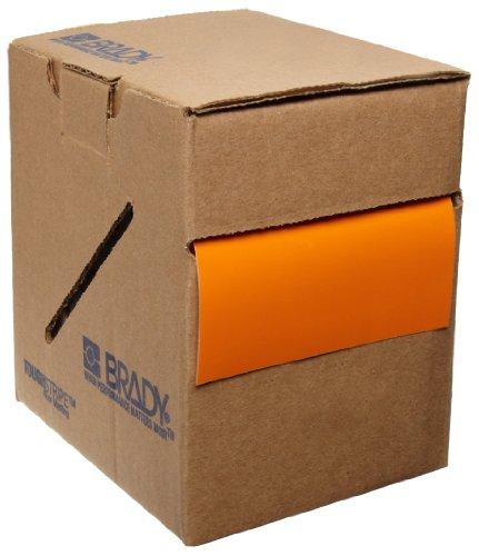 "Brady ToughStripe Nonabrasive Floor Marking Tape, 108' Length, 2"" Width, Orange (Pack of 1 Roll)"