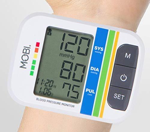 MOBI Automatic Wrist Blood Pressure Monitor