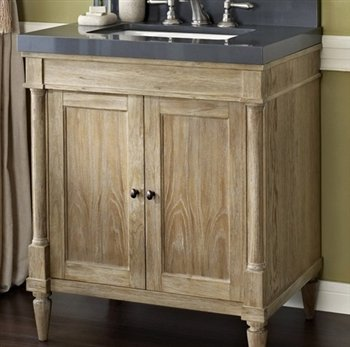 Fairmont Designs 142-V30 Rustic Chic 30 Inch Vanity In Weathered Oak