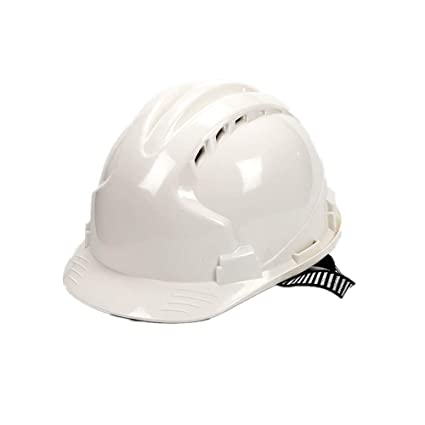 Easy Go Shopping Casco de Seguridad de construcción Resistente del Casco con Ajustable (Color :