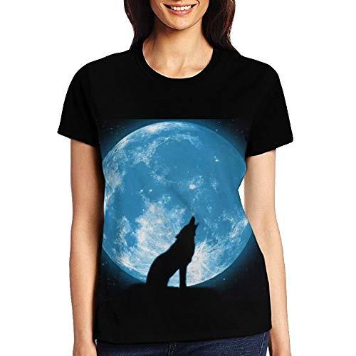 The Big Bad Wolf Girl's Short Sleeve T-Shirt Black -