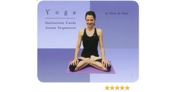 New Yoga Flash Cards - Asana Instruction Sequences: Amazon ...
