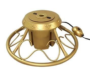 Amazon.com: CMI Heavy Duty Fancy Gold Metal Rotating Artificial ...