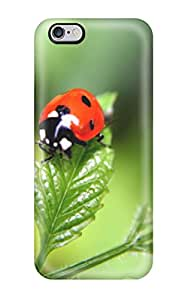 New Arrival Case Cover With NderYxH5392WCKId Design For Iphone 6 Plus- Ladybugs Animal