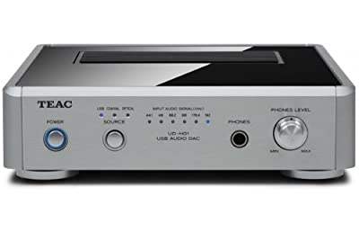 NEW Silver High-Performance Teac High-End Digital-to-Analog Converter