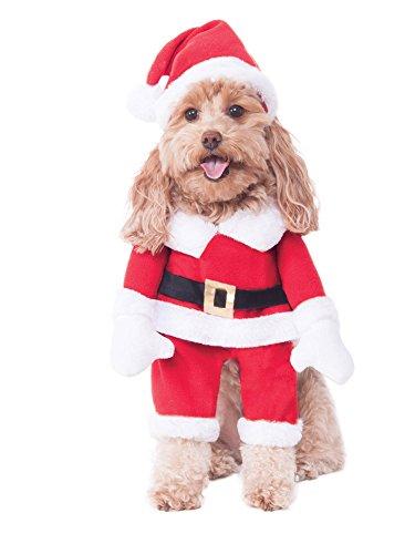 Rubie's Walking Santa Pet Costume, Small