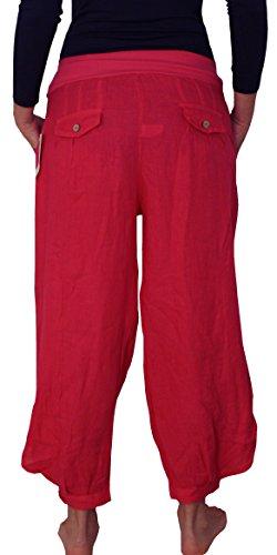 Perano - Pantalón - Básico - para mujer rose-fuchsia