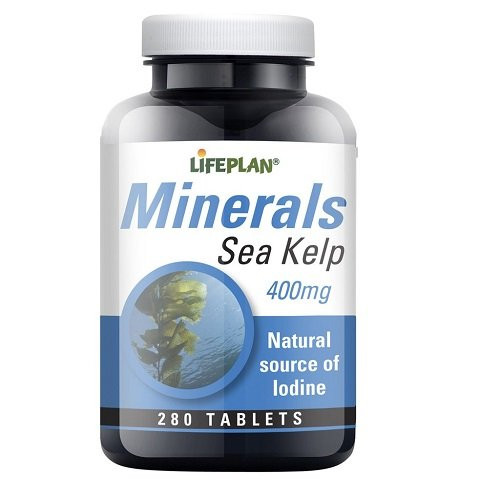 2 opinioni per Lifeplan Sea Kelp 400mg 280 Tablets