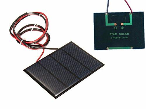 Mini Solar Panels 12V - 5