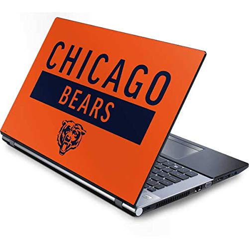 - Skinit Chicago Bears Orange Performance Series Generic 15.4in Laptop Skin - Officially Licensed NFL Laptop Decal - Ultra Thin, Lightweight Vinyl Decal Protection