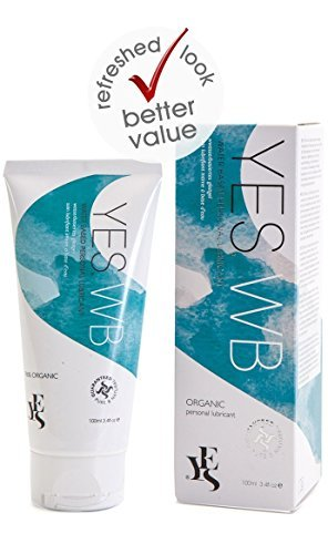 - Yes Organic Water-Based Personal Lubricant 2.6 oz