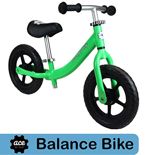 Ace of Play Balance Bike Green