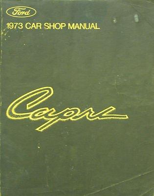 1973 Ford Capri Car Shop - City Shops Knox