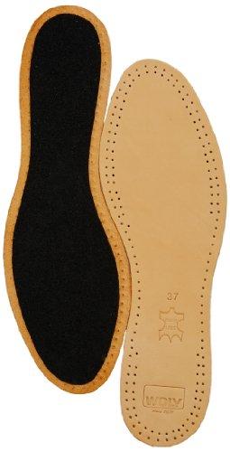 Woly Woly Comfort Leather Insole - Plantillas deportivas unisex Marrón
