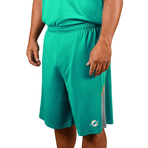 Profile Big & Tall NFL Miami Dolphins Adult men NFL Plus Synthetic (Nfl Miami Dolphins Short)