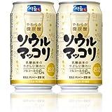【2ケース】サントリー ソウルマッコリ350ml缶24本入