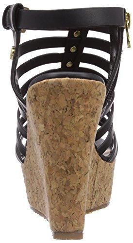 Tom Tailor Tom Tailor Damenschuhe - Sandalias de vestir de material sintético para mujer negro - negro