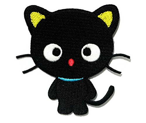 Disney Mix Max Ice (black cat Iron on Patch Embroidered Sewing for T-shirt, Hat, Jean ,Jacket, Backpacks, Clothing Ships and sold from Naree2016. only. Made in Thailand, Buy good quality item)