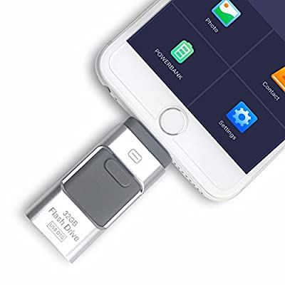i-Flash OTG 3 in 1 USB Flash Drive Pen Drives USB 3.0 Memory Stick For iPhone 7/7Plus/5/5s/5c/6/6s/Plus/ipad from sky_electronics