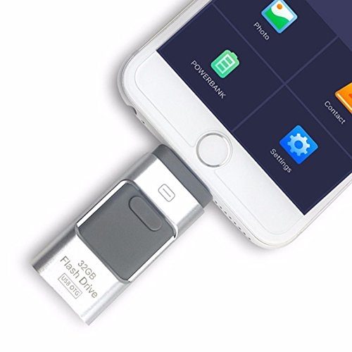 i-Flash OTG 3 in 1 USB Flash Drive Pen Drives USB 3.0 Memory Stick For iPhone 7/7Plus/5/5s/5c/6/6s/Plus/ipad -