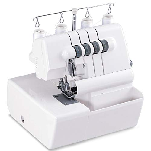 2 Needle Overlock Serger Sewing Machine w/Differential Feed New Perfect Beautiful Classic Elegant Useful CHOOSEandBUY