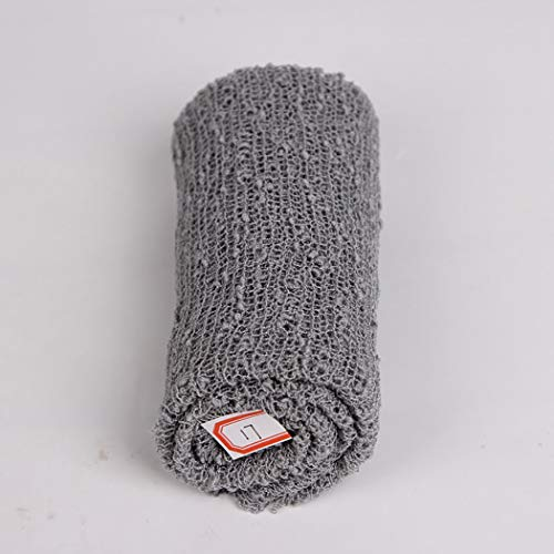 amp;light Baby With Mat Cotton Photo Grey Pink Newborn Elastic Props Blankets 2pcs Braided Wrap Long ZBOPqZd