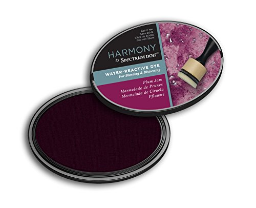 Plum Ink - Spectrum Noir SN-IP-HWR-PJAM Harmony (Plum Jam) Water Reactive Ink Pad,