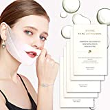 V Line Face Lift and Double Chin Reducer Intense Lifting Layer Mask, Lifting Patch for Chin Up & V Line, Double Chin Mask-V Lifting Chin Mask-Chin Up Mask 5pcs