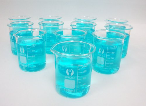 Glass Beakers, 100ml Pack of 12]()