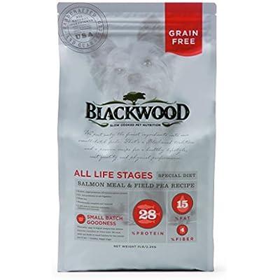 Blackwood Pet Food 075492053339 Salmon Meal & Field Pea Recipe Grain-Free Dry Dog Food, 5Lbs
