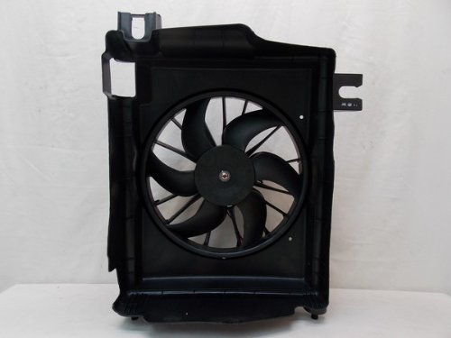 Radiator A/c Motor Fan (AC A/C CONDENSER COOLING FAN FOR DG FITS RAM TRUCK 1500 2500 3500 CH3113103)