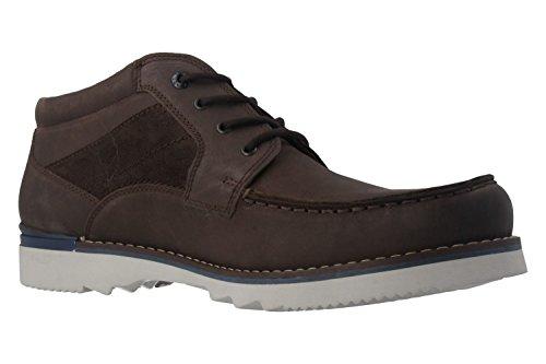 FRETZ men , Chaussures de ville à lacets pour homme Marron Marron