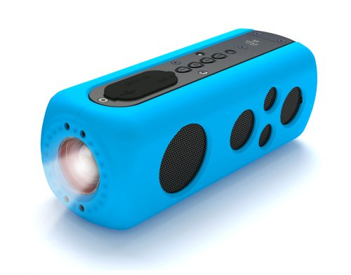 Pyle Bluetooth Waterproof Flashlight Portable