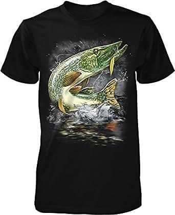 Amazon.com: NOFO Clothing Co Pike, Northern Pike, Blue
