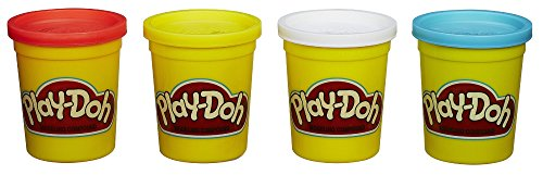 ความคิดเห็น Hasbro Play-Doh -Pack Colors 20oz - Red, Yellow, White & Blue
