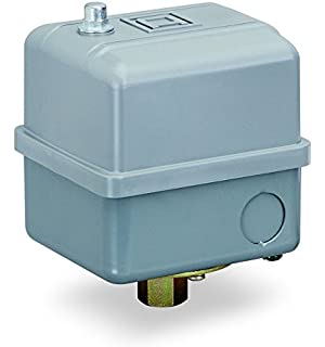 40 Psi Fixed Differential Square D by Schneider Electric 9013FHG59J52M1X Air-Compressor Pressure Switch 2-Way Release Valve Auto//Off Cut-Out Lever 125 Psi Set Off 1//4 Npt External