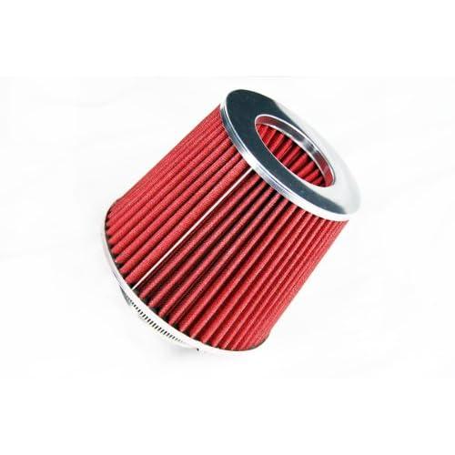 "3.5/"" Cold Air Intake Filter Universal RED For K3500//K2500//K2500 Suburban"