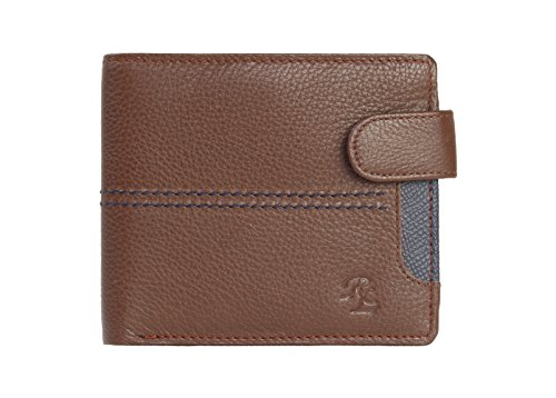Walletsnbags Loop & Stitch 100% Genuine Leather Wallets For Men