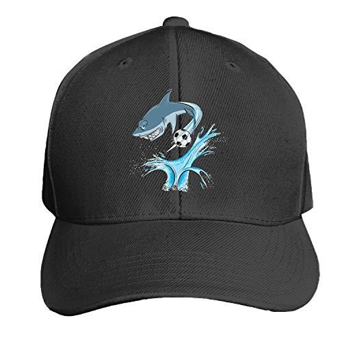 Customized Unisex Shark Sport Mascot Trucker Baseball Cap Adjustable Peaked Sandwich Hat -
