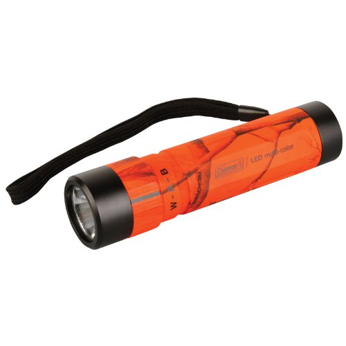 Coleman Multi-color Aluminum LED Flashlight (Coleman Multicolor Flashlight compare prices)