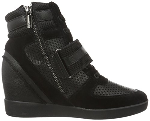 Armani Jeans 9250816a473, Women's Low-Top Sneakers Black