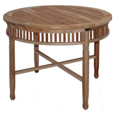 Ploß Outdoor furniture Tisch, New Orleans Eco, merhfarbig, 100x100x75 cm, 0,7128 ml, 3040050