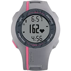 Garmin Forerunner 110W GPS enabled Sports Watch with HRM (Pink) (Discontinued by Manufacturer)